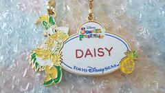 ディズニー TDS オーダー ネームタグ ネームプレート サマーフェスティバル 30周年 デイジー