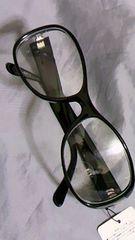 クリアーレンズ 伊達メガネ ファッションサングラス 未使用品 ストリート
