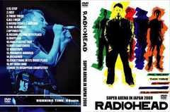 RADIOHEAD JAPAN TOUR 2008 レディオヘッド