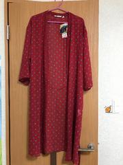 新品ユニクロ美女と野獣コラボ ロングシャツ七分袖M