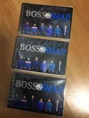 新品 BOSS SMAP オリジナルリングノート