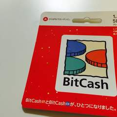 BitCash ビットキャッシュ10000円分 ☆モバペイ各種対応