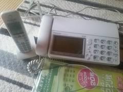 panasonic おたっくす 子機つきFAX電話