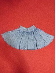130-140�p Sサイズ♪ナルミヤ♪インナーパンツ付き!スカート♪