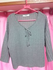 GRL☆セーター☆グレー☆新品☆