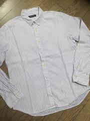 美品BOYCOTT ストライプシャツ 日本製 ボイコット