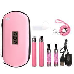 電子タバコCE4 1100mAH禁煙セット  ピンク