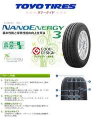★155/65R14 緊急入荷★TOYO NANO ENERGY 3 新品タイヤ 4本セット