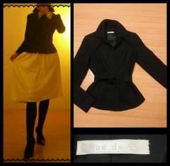 Rue de B☆上質 綺麗ライン 腰紐付き ジャケット 2