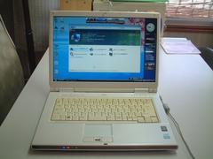 すぐ使える Vista SP2 マルチ 無線 FMV-NF40U Office2007入