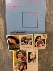 激安!激レア!☆TWICE/THE1stAlbum☆トレカ3枚、ステッカー付!☆