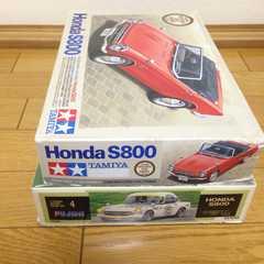 1/24 ホンダ S800M&S800レーシング 2台セット
