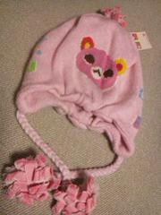 ●Bruyant● クマさんニット帽子 54�p 新品¥3045