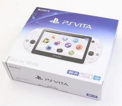 新品即決 PSVita Wi-Fiモデル グレイシャーホワイト PCH-2000ZA22 送料無料