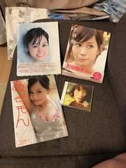 前田敦子あっちゃん不器用はいっ写真集3冊Flower初回限定CD+DVD