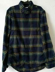GU ジーユー チェック ネルシャツ  試着のみ美品