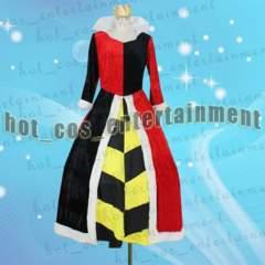 不思議の国のアリス ハートの女王 コスプレ衣装