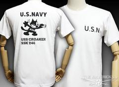 極厚!スーパーヘビーウェイトTシャツフェリックス「CROAKER」XXL