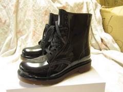 ★★ブーツ BOOT マーチィン風  BK 24.5 cm