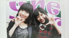 AKB48 ハート・エレキ タワーレコード特典写真 渡辺麻友 松井珠理奈 ハートエレキ