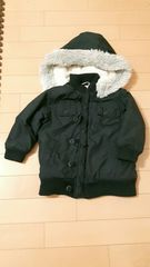 冬用黒ジャンパー☆サイズ90