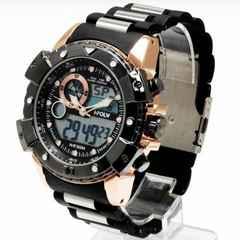 NEW★アナログ&デジタル・ビッグフェイス腕時計PT2