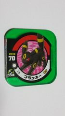 ポケモントレッタ3弾 ブラッキー 3-25 スーパー クリアver.