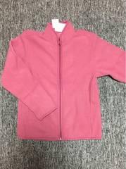 ピーチピンク フリース ジップアップジャケット Sサイズ