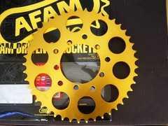 (7704)CBX400F�UCBX400FXAM製旧AFAM製ゴールドスプロケット