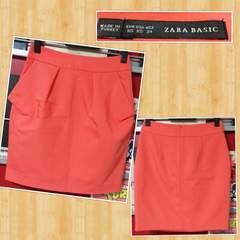 ZARA BASIC ザラ チューリップ ショート スカート XS 超美品