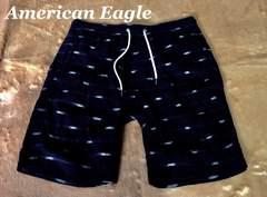 【アメリカンイーグル】Vintage ショートパンツ US-M/Black