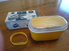 新品未使用/お弁当箱♪ランチボックス/ランチケース/お箸&ベルト付き♪黄色イエロー