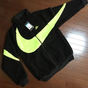 【Mサイズ】NIKE新品ナイキ ボアジャケット ビッグスウッシュ