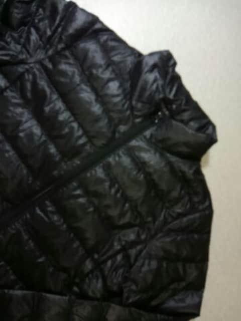 ●UNIQLO● ダウン ジャケット ブラック  150 < ブランドの