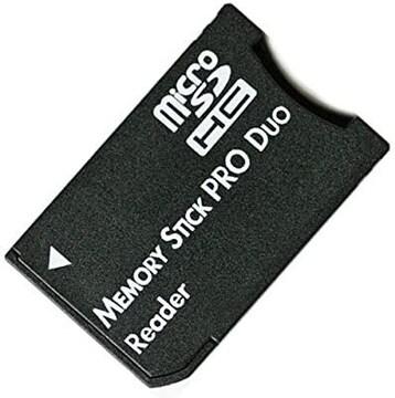 microSD microSDHCカード メモリスティックPRODuo 変換アダプタ