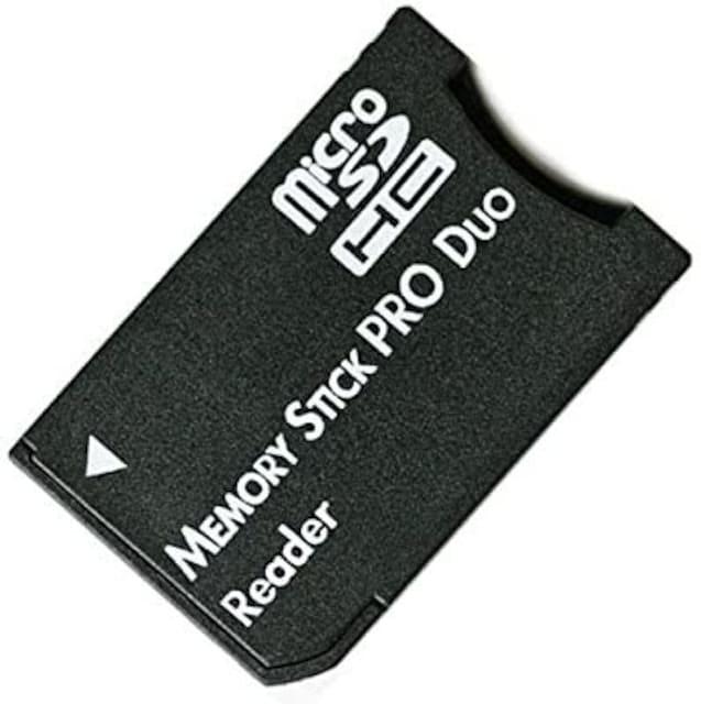 microSD microSDHCカード メモリスティックPRODuo 変換アダプタ  < PC本体/周辺機器の