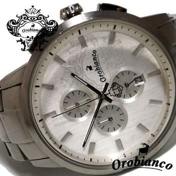 レア品【1点もの】オロビアンコ TIMEORA【クロノ】メンズ腕時計