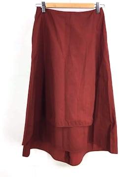 Adam et Rope(アダムエロペ)ラップミディ丈スカートフレアスカート
