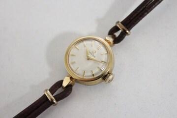 オメガ レディース 腕時計 アンティークブレスレットウォッチ 手巻き