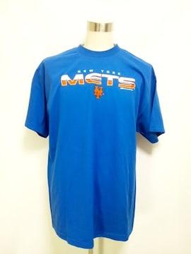 294XXLニューヨークメッツNY METS ロゴ TシャツSTITCHES 2XL
