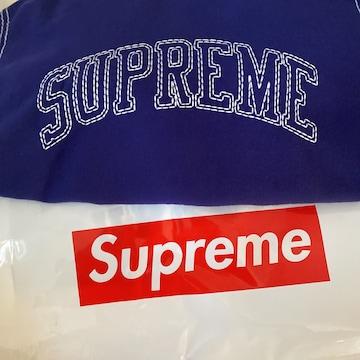 (新品) supreme BIG stitch dark royal Mサイズ