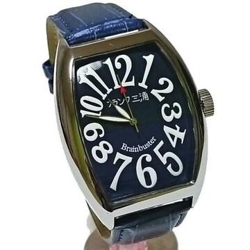 フランク三浦 腕時計 サムライネイビー FM06K-NV