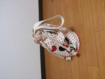 *新品(^O^) ミニーマウス 巾着鞄*