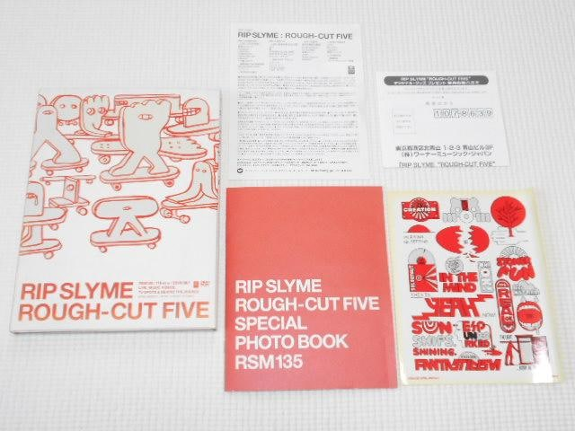 DVD★RIP SLYME ROUGH-CUT FIVE  < タレントグッズの