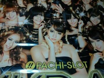 【パチスロ AKB48】非売品 超巨大タペストリー team サプライズ