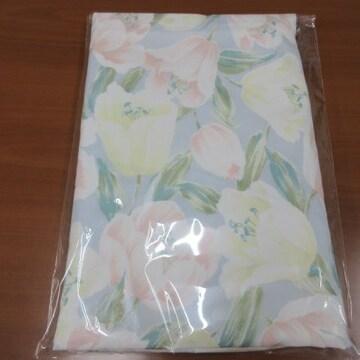 ▽新品未使用品▽ シングル 布団カバー 花柄 ピンク