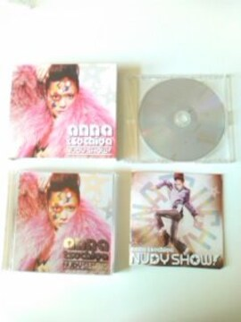 (CD+2DVD)土屋アンナ☆NUDY SHOW[ツタヤ限定盤]PV映像集等々即決アリ