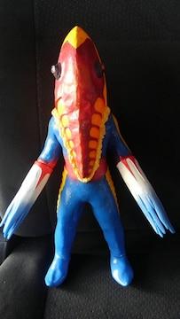 メトロン星人 フィギュア ソフビ 人形 ウルトラセブン 非売品