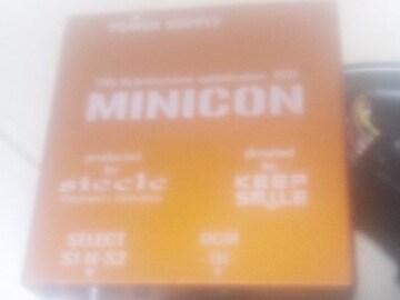 ミニコン(スロコン&サブコン)アクセルスイッチ用