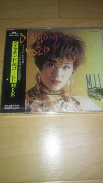 廃盤新品!MIE「ダイヤモンド&ゴールド」(1992年発売盤)☆